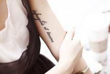 tattoo / by Marisa Sasa