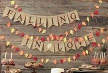 Fall Bridal Shower / Fall themed bridal shower ideas!
