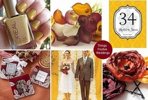 Wedding by the COLORS / cool wedding themes by color