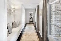 Home : Hallways + Stairs / Divided by hashtags - Bathroom + Hallways + staircases
