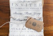 Wedding Invitation Inspiration / Be inspired.  Make a fabulous first impression.  Vintage Wedding Invitations #vintageweddings