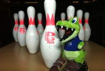 Alley the Gator - Official Mascot of Mel's Lone Star Lanes / Follow Alley the Gator, the official mascot of Mel's Lone Star Lanes in Georgetown, TX.  Alley has a lot of friends and is always doing something interesting.  Follow him on twitter at www.Twitter.com/AlleyTheGator