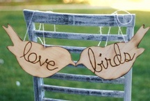 Love Birds Wedding Ideas / Loving love birds incorporated in a vintage style wedding