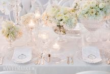 White Wedding Ideas / Nothing says wedding like white. Try a monochromatic pallet of white with vintage touches. / by Mill Crest Vintage