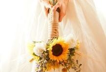 Sunflower Wedding Ideas / Sunflowers and Vintage.  A great wedding theme combo. / by Mill Crest Vintage Bridal Boutique