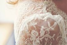 Lace Wedding Inspiration / Use the lace from your vintage wedding dress as an inspiration for your reception theme. / by Mill Crest Vintage