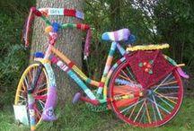 yarn bomb / yarn bombing and other silly yarn-y stuff / by Jen Boyle