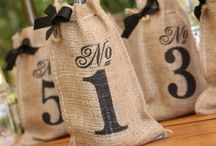 Burlap Wedding Inspiration / #weddinginspiration #burlap #rusticwedding