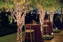 Wedding Reception Lighting Ideas / Lighting inspiration for wedding receptions