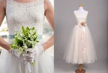 Before & After by Mill Crest Vintage / #vintageweddingdresses #vintagewedding #vintagebride #wedding / by Mill Crest Vintage