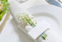 Lily of the Valley / Lily of the valley is an iconic flower bouquet for royal brides.