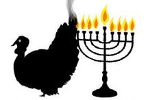 Thanksgivukkah / This year Hanukkah falls out on Thanksgiving, an extremely rare occasion that calls for a double-y special celebration!  / by Oshman Family JCC