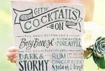 Vintage Typography / Great ways to add typography to your wedding decor / by Mill Crest Vintage