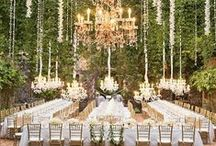 Wedding Chandeliers / Vintage style wedding chandeliers to light your reception