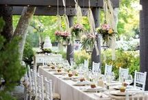 Outdoor Wedding Ideas / Outdoor wedding inspiration with a vintage feel. #alfresco / by Mill Crest Vintage Bridal Boutique