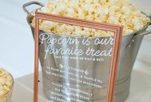 Popcorn Bar / How about a vintage gourmet popcorn bar!!!