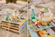 Watercolor Wedding Inspiration / Fantastic watercolor wedding inspiration for any color pallet
