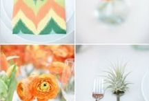 Pattern and Color Wedding Ideas / Add a little pattern and color into your affair. / by Mill Crest Vintage Bridal Boutique