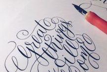 create : calligraphy