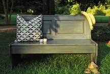bench ideas / by YouAreTalkingTooMuch.com Blog
