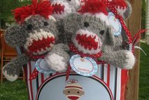 Sock Monkey Obsession! / Because really, who doesn't love Sock Monkeys? / by Cati Nelson