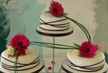 Cake Flowers / Lake Chelan Florist | J9Bing Floral Design