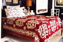bedroom of red / by Ruby Brands