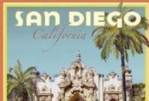 San Diego, CA, MY CITY, MY HOME! / San Diego is my chosen home for the rest of my life!  I adore it here and will never live anywhere else.  No Matter WHERE I may travel to , visit or dream about, San Diego will always be where I return to.   / by SoCalMediaSurfer- MiccilinaPiraino