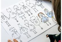 Kid's Craft/Activities Ideas