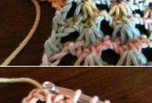 crochet stuff / by Wilma Schmidt