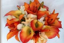 Orange & Peach / Lake Chelan Florist | J9Bing Floral Design