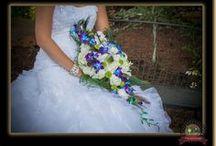 Blue & Teal / Lake Chelan Florist | J9Bing Floral Design