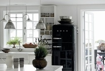 .kitchen. white & shabby.