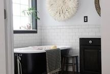 bathroom {renovation} / ideas & products for our new bathroom.