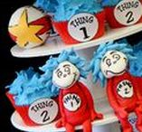 Dr. Seuss Party | Thing 1 and Thing 2 Party | Cat in the Hat Party / Dr. Seuss Party | Thing 1 and Thing 2 Party | Cat in the Hat Party | Twin Birthday | Dr. Seuss Baby Shower