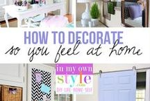 Decorating home ideas and styles