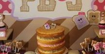 Peanut Butter and Jelly Party | PB&J Party / Peanut Butter and Jelly Party | PB&J Party Looking for fun pb&j birthday ideas?  This theme is great for twins or a little one who loves peanut butter and jelly.  This board is full of party ideas, party food, party treats, party decorations.