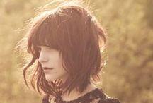 """hair cuts / """"It seems that an hair cut can lighten a broken heart"""" - Wrote by me."""