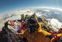 29,035 on my mind / Mount Everest (Chomolungma, Sagarmatha) - 29,035 and growing! / by ~Treesa~