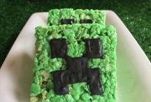 Minecraft Party | Minecraft Birthday Ideas / Minecraft Party | Minecraft Birthday Ideas | Creeper Party | Video Game Party