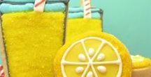 Lemonade Party | Lemonade Stand Ideas | Lemonade Birthday Party / Lemonade Party | Lemonade Stand Ideas | Lemonade Birthday Party | Spring Birthday Ideas