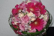 Brautsträuße in rosa und pink / Anregungen über Brautsträuße...für den schönsten Tag im Leben!