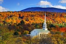 Vermont / The very best of the Green Mountain State in all its glory, in all four seasons!