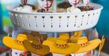 Fiesta Party | Taco Twosday | Dos Party / Looking for a fun fiesta theme?  Perfect ideas for a second birthday party, cinco de mayo, fiesta or just a taco  themed party.  Fiesta ideas, cactus decorations, taco twosday and more!!