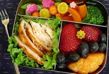 Bento Lunch Box Ideas / by Melissa Hargrove