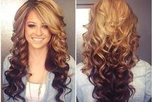 HAIRSTYLES & UPDOS / by Briana Ferguson