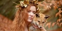 My Modeling - Sidhe Etain / Various fine art photography shots for which I have modeled.