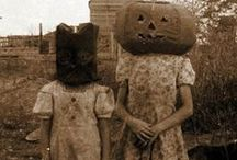 Odd 20th Century Halloween Images  / Eerie images of costumes from All Hallows Eve