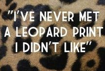 • leopard addict • / I love anything leopard... ❤️ / by Megg Aumiller