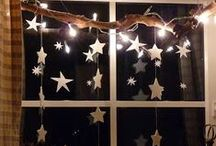 Post-Christmas Winter Decorating / What to do after you have to take down your warm glowy Christmas decorations?  Here are some ideas...